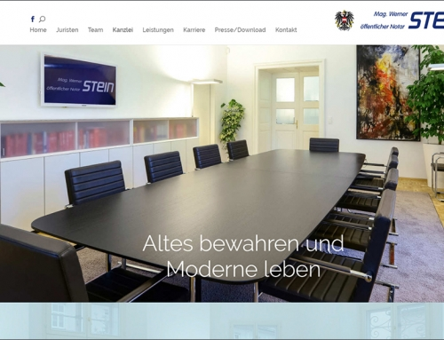 Öffentlicher Notar Mag. Werner STEIN+partner